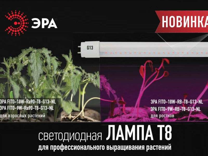 Листовка - ФИТО лампа Т8 для растений New